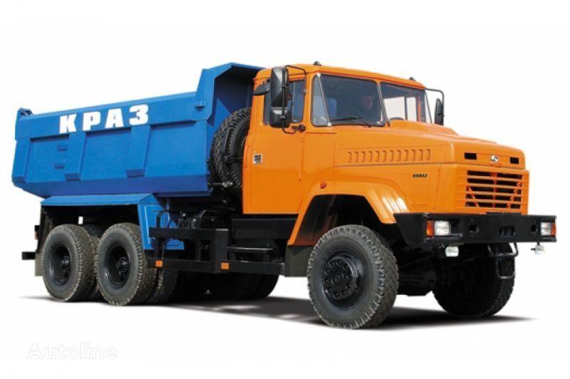 new KRAZ 65032 tip 2  dump truck