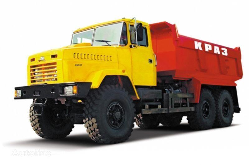 KRAZ 65032 tip 4  dump truck