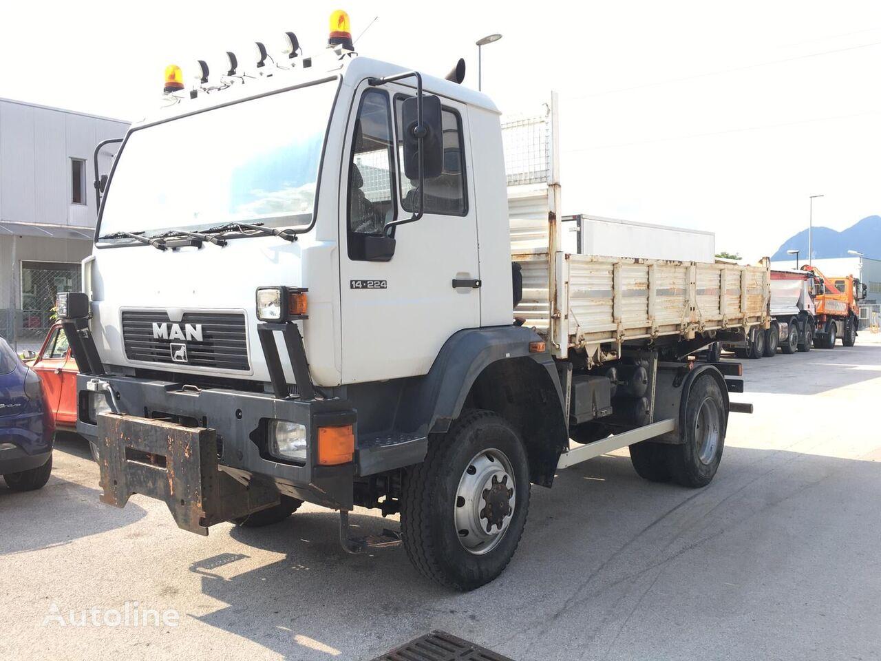 MAN 14.224 dump truck
