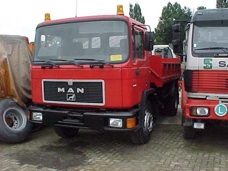 MAN 18.232 F / 4x2 dump truck