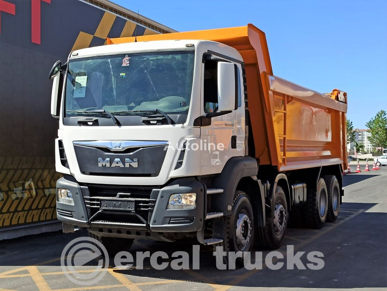 MAN 2016 TGS 41.400 AC E6 8X4 HARDOX TIPPER 20 m³  dump truck