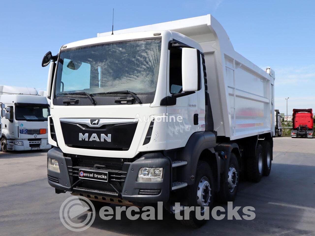 MAN 2017 TGS 41.420 AC 8X4 EURO6 HARDOX TIPPER 6 PCS dump truck