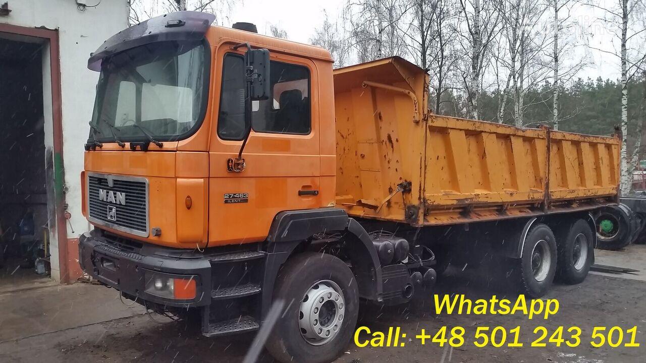 Man 27 463 6x4 Full Steel  Big Axel  Big Tipper  362  372  422  Dump Trucks For Sale  Tipper Truck