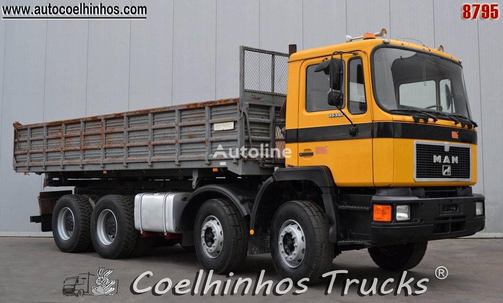 MAN 33.332 dump truck