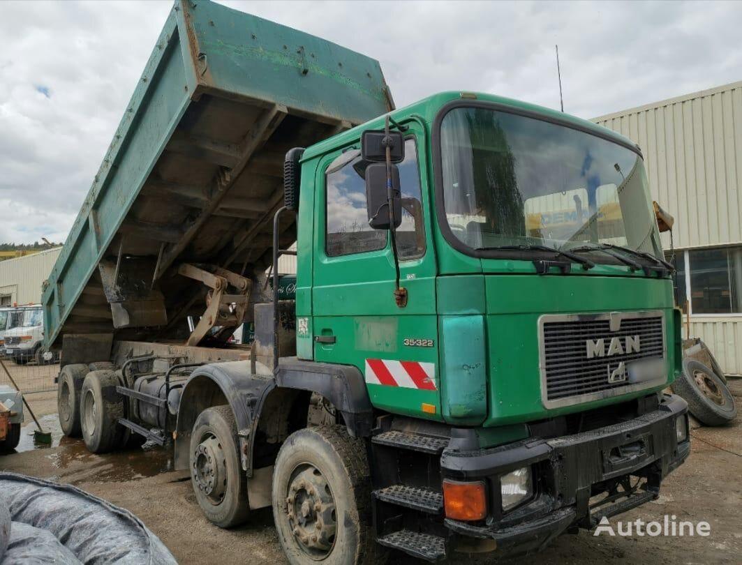 MAN 35.322 dump truck