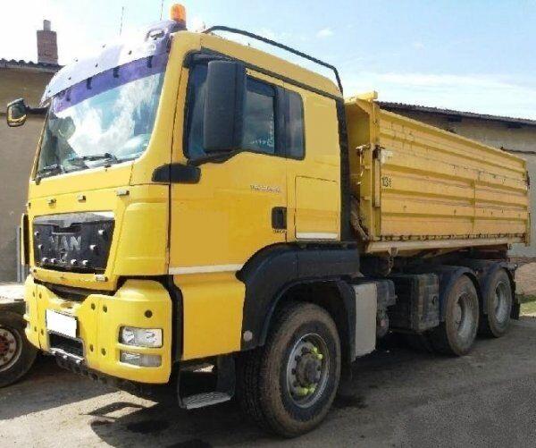 MAN 6x6 TGS 26.480 hydrodrive bordmatik dump truck