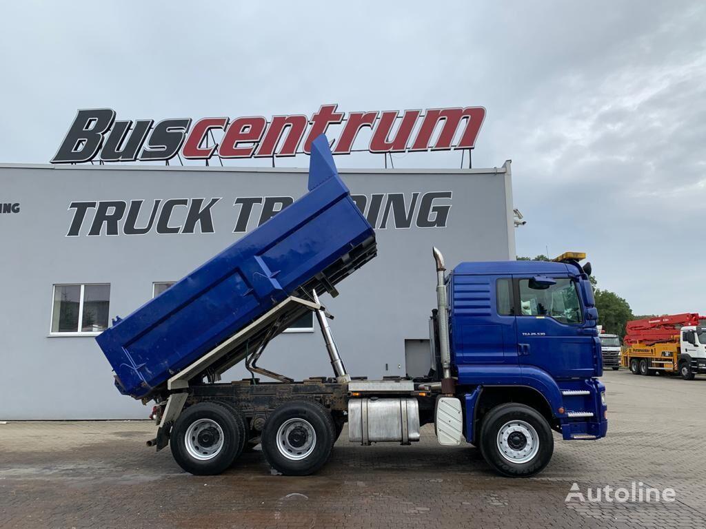 MAN TGA 26.530 6x4 Kipper Meiller dump truck