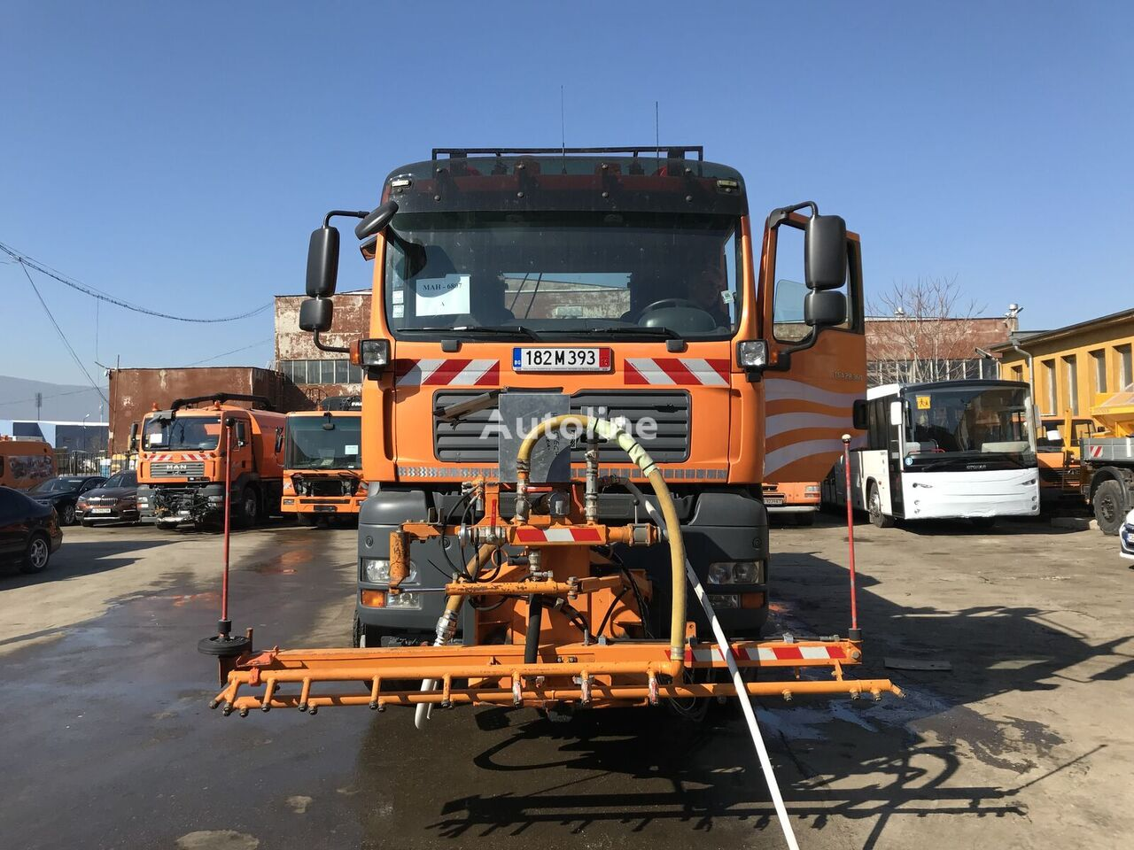 MAN TGA 28.360 6x4-4 BL dump truck