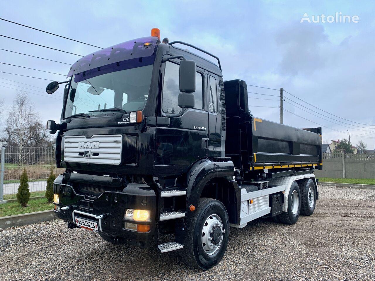 MAN TGA 28.430 dump truck