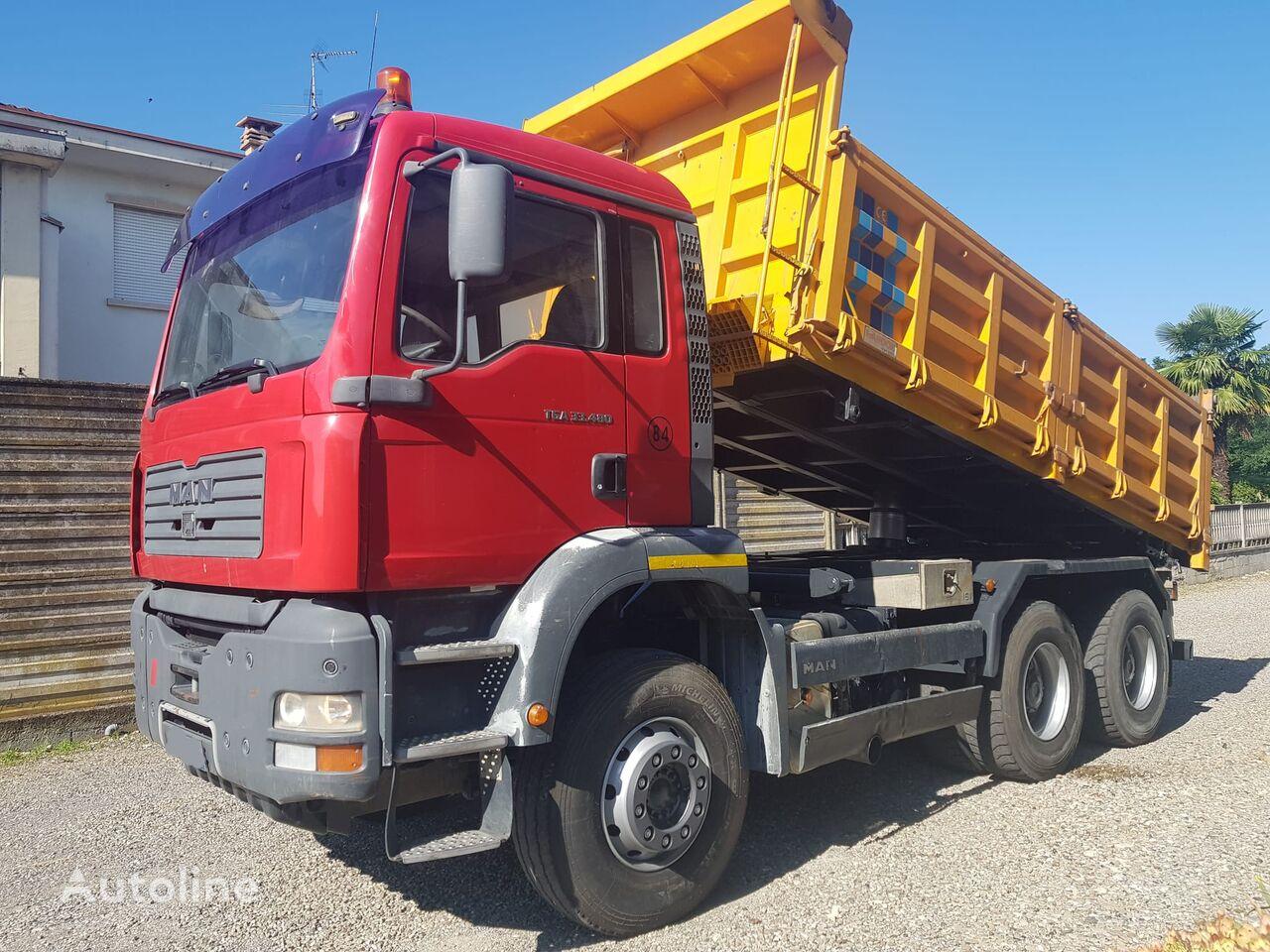 MAN TGA 33 480 dump truck