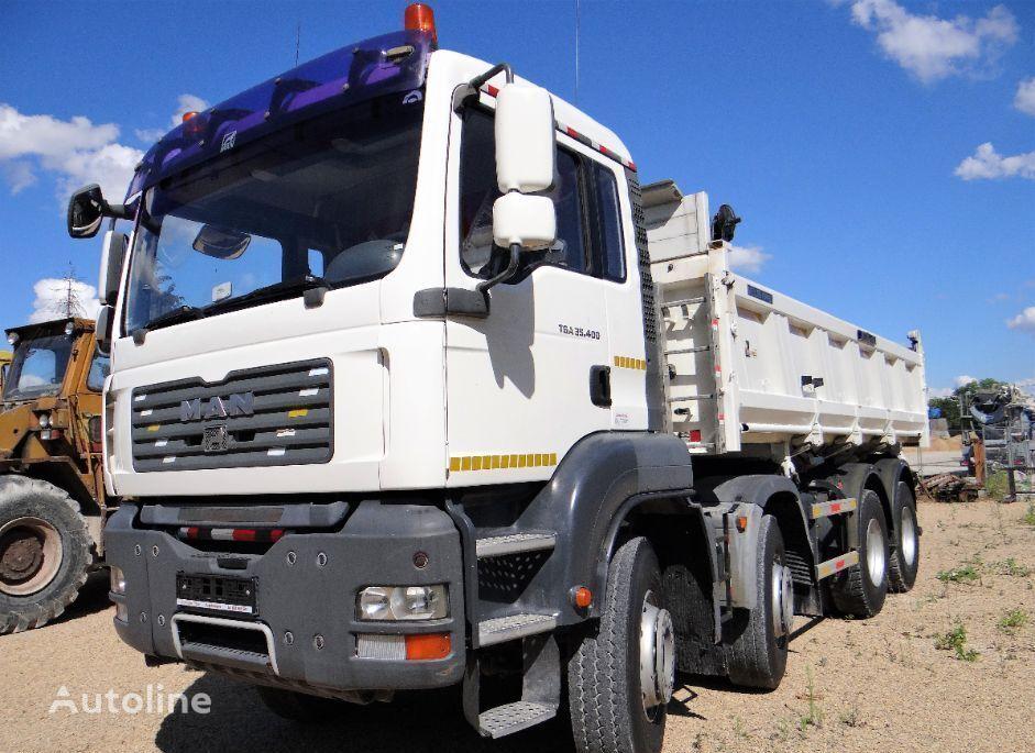 MAN TGA 35.400 Meiller-Kipper dump truck