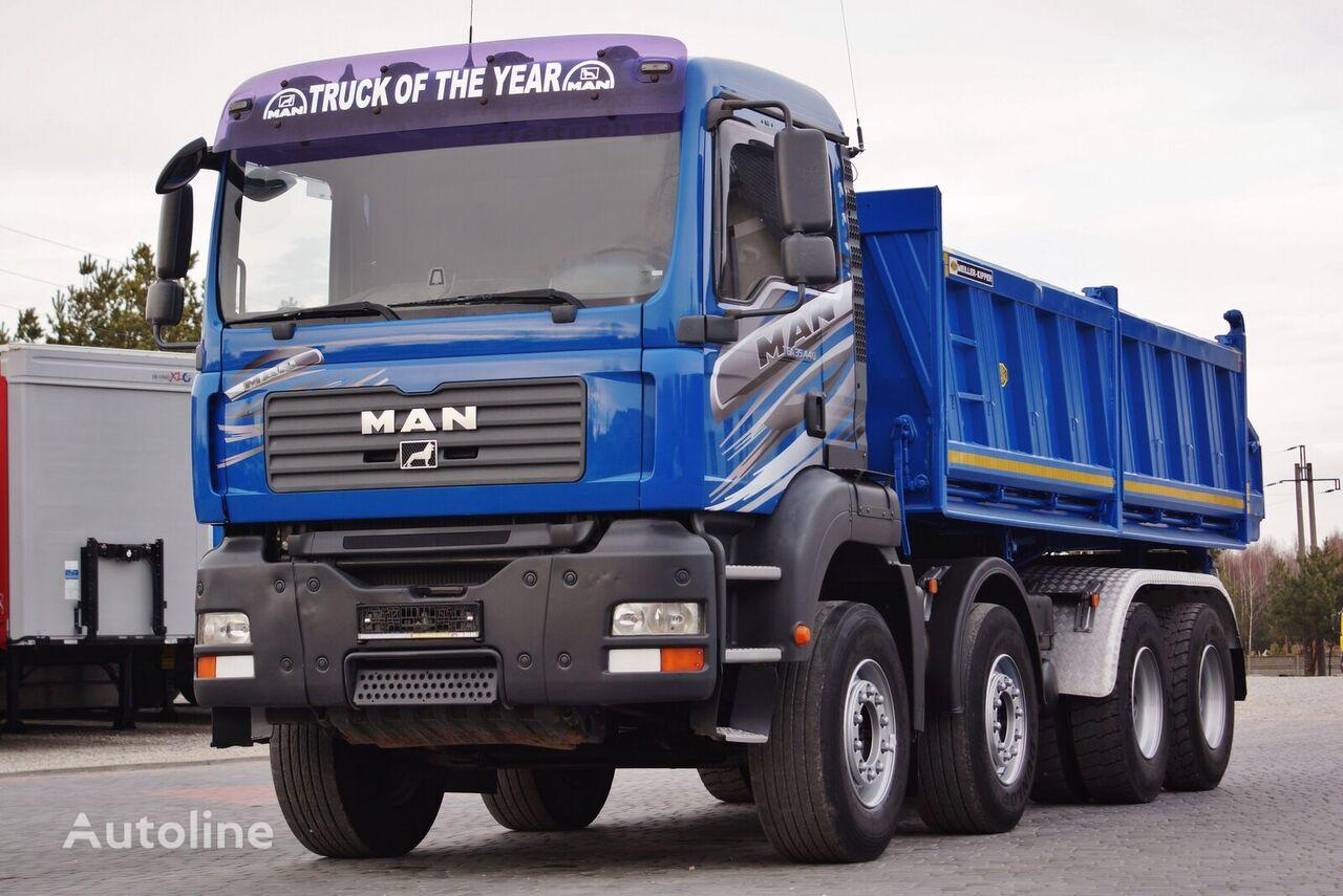 MAN TGA 35.440 8X4 MEILLER KIPPER * PERFECT * 2008* TOP_STAN dump truck