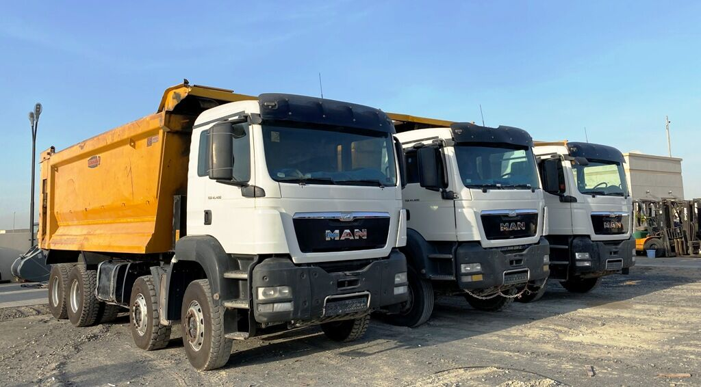 MAN TGA 41.400 dump truck