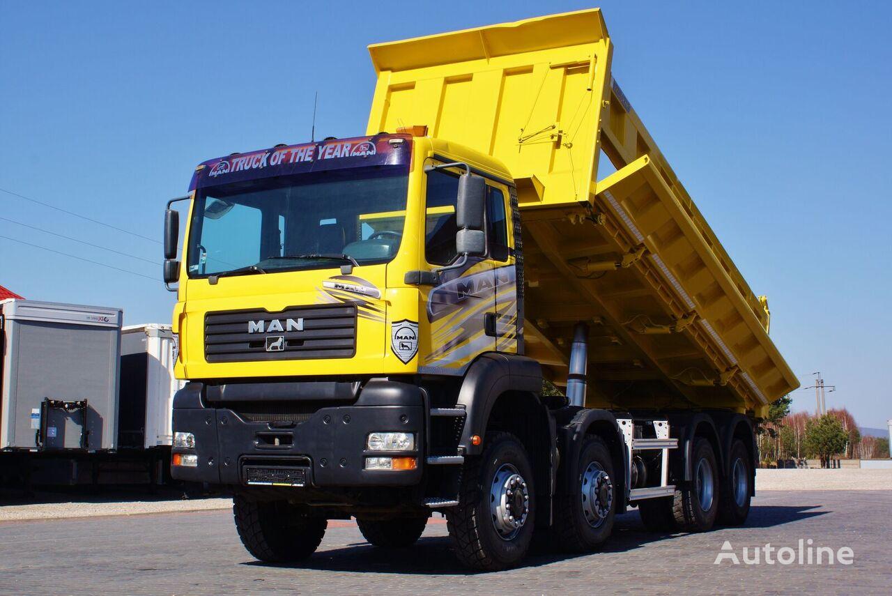 MAN TGA 41.430 8X8 3S KIPPER BORDMATIC NEW TYRES ! (8X6 ) 2004/2005 dump truck
