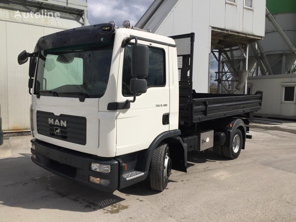 MAN TGL 8.180 dump truck