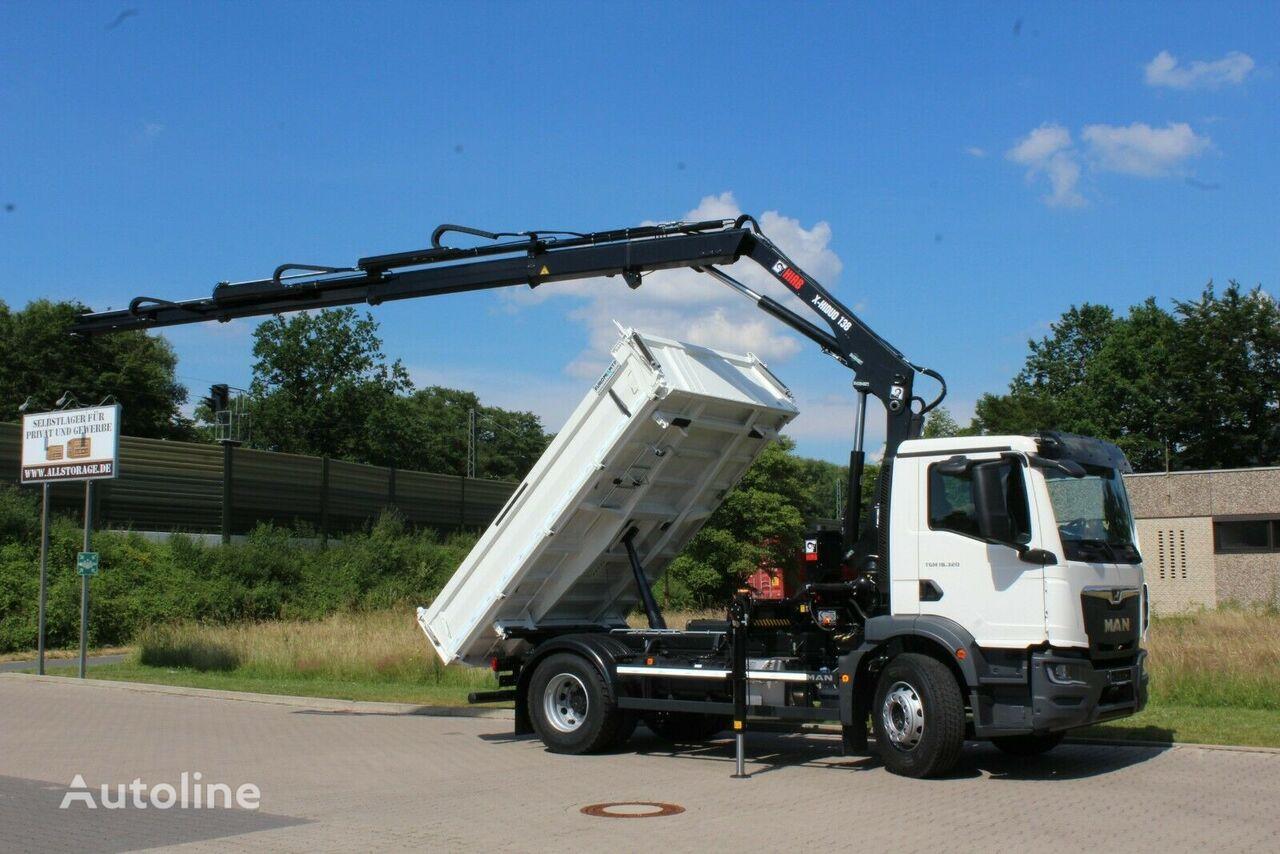 new MAN TGM 18.320  dump truck