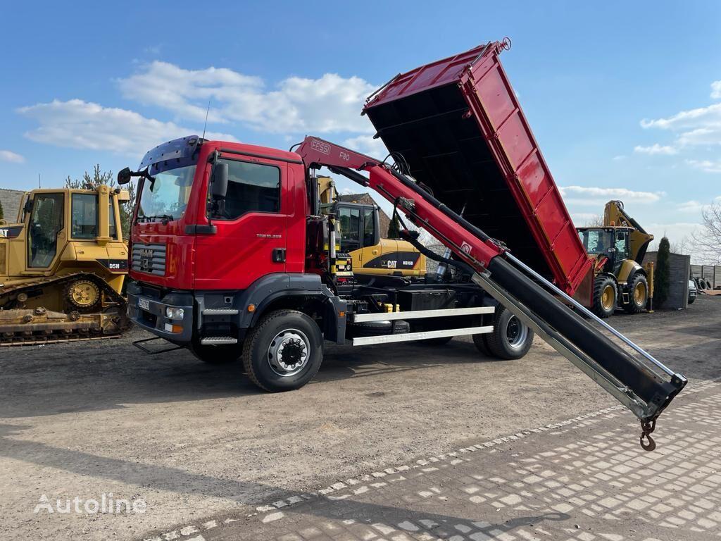 MAN TGM 18280 HDS dump truck