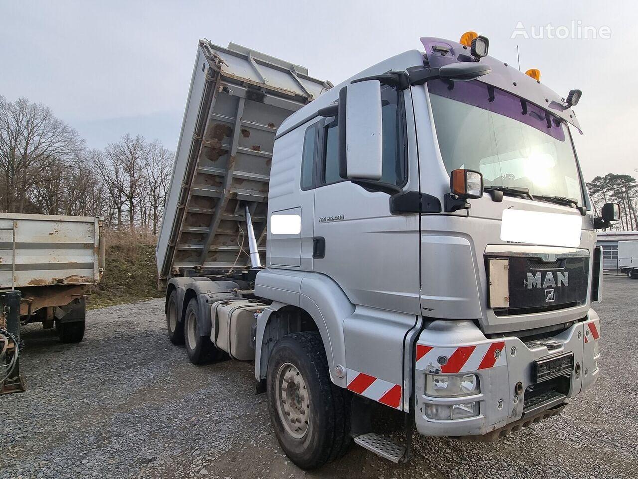 MAN TGS 26.480 6x4 BL Dautel Dreiseitenkipper dump truck