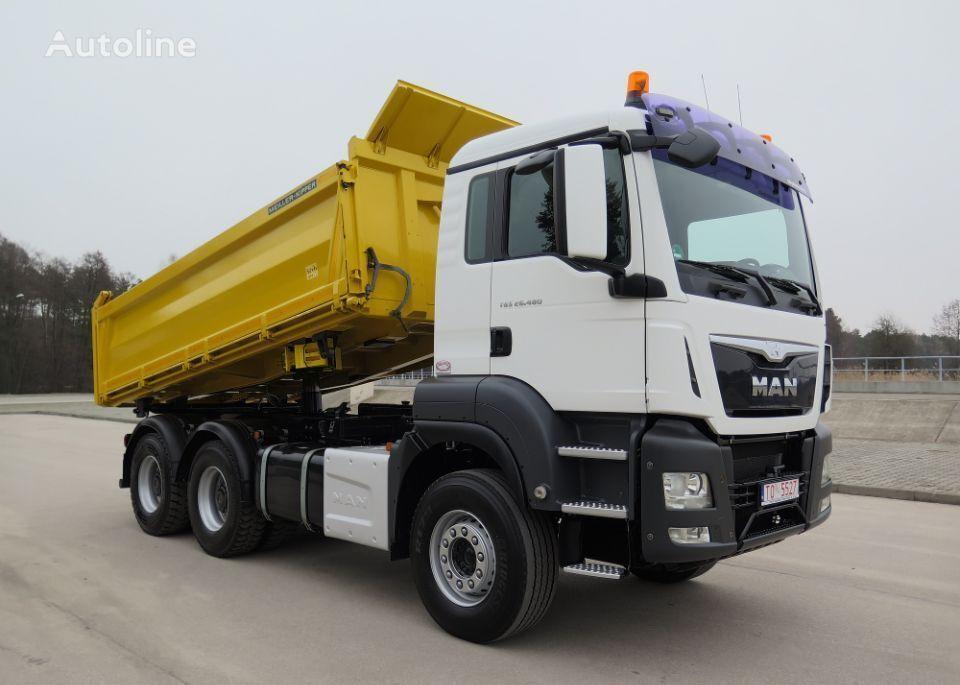 MAN TGS 26.480, 6x4, MANUAL, STAN IDEALNY dump truck