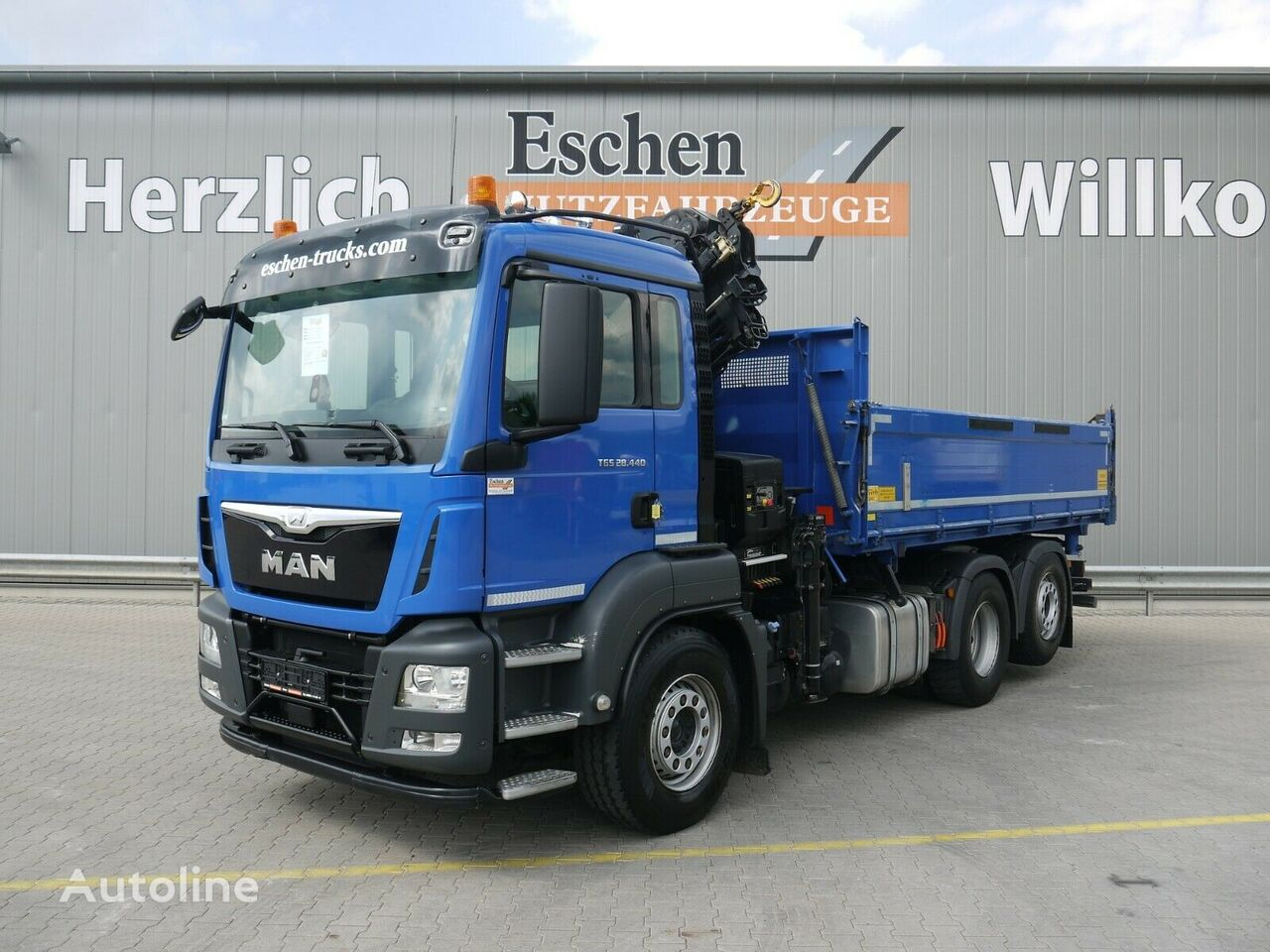 MAN TGS 28.440 6x2 Darus M 3 old dump truck