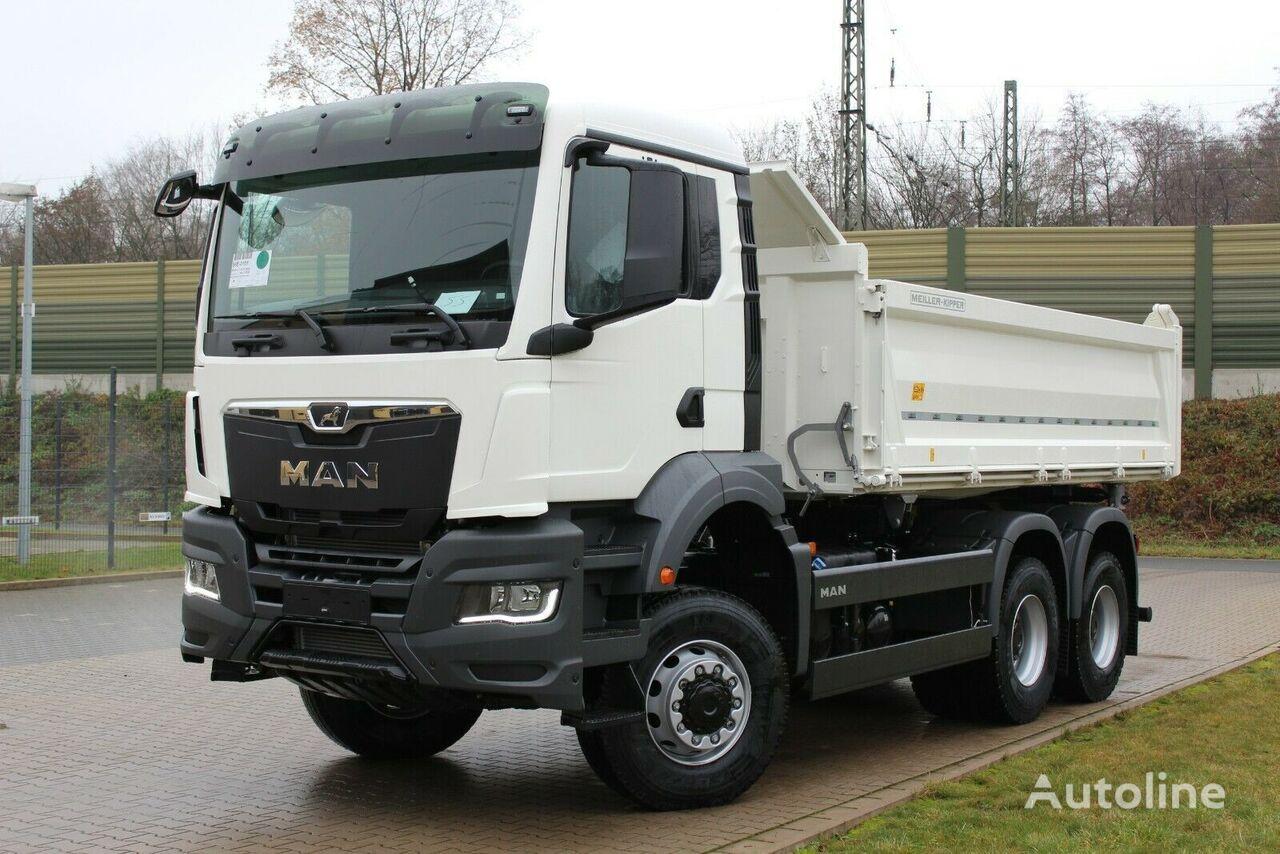 new MAN TGS 33.430 6x6 /Euro6d 3-Seiten-Kipper dump truck