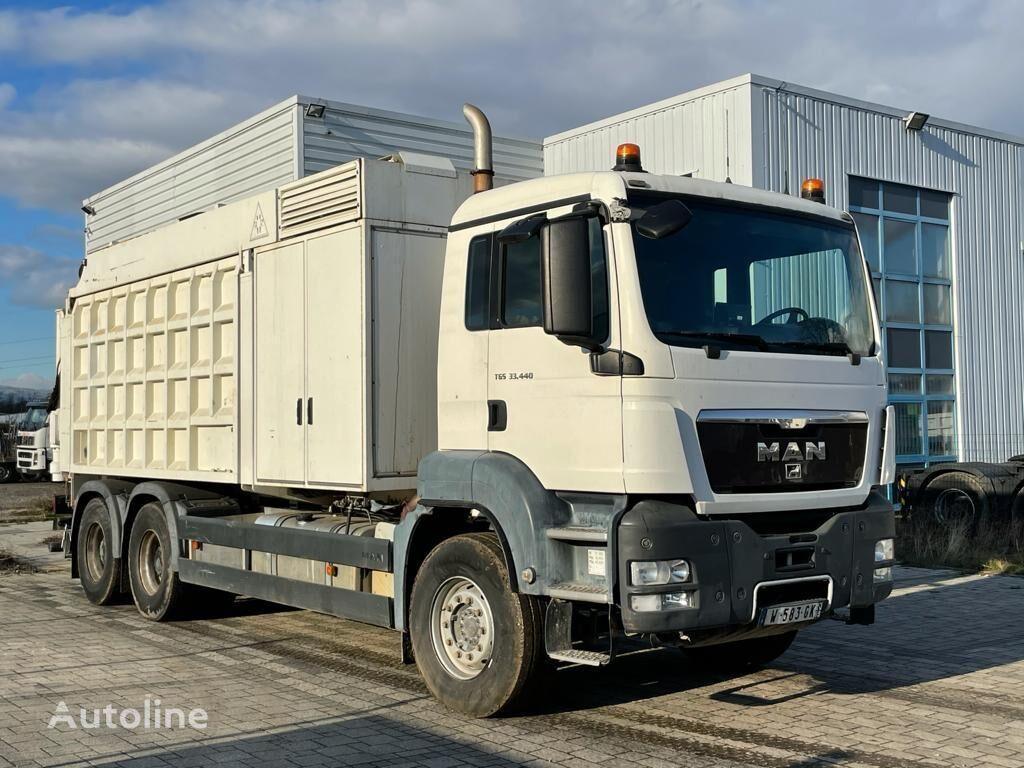 MAN TGS 33.440 dump truck