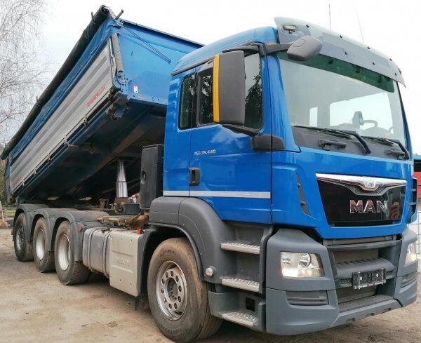 MAN TGS 35.440 tridem 8x4 dump truck