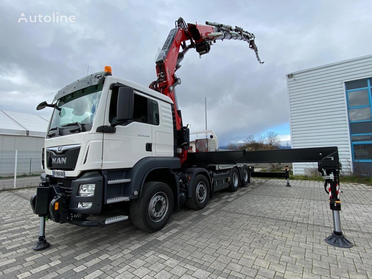 new MAN TGS 35.480 dump truck