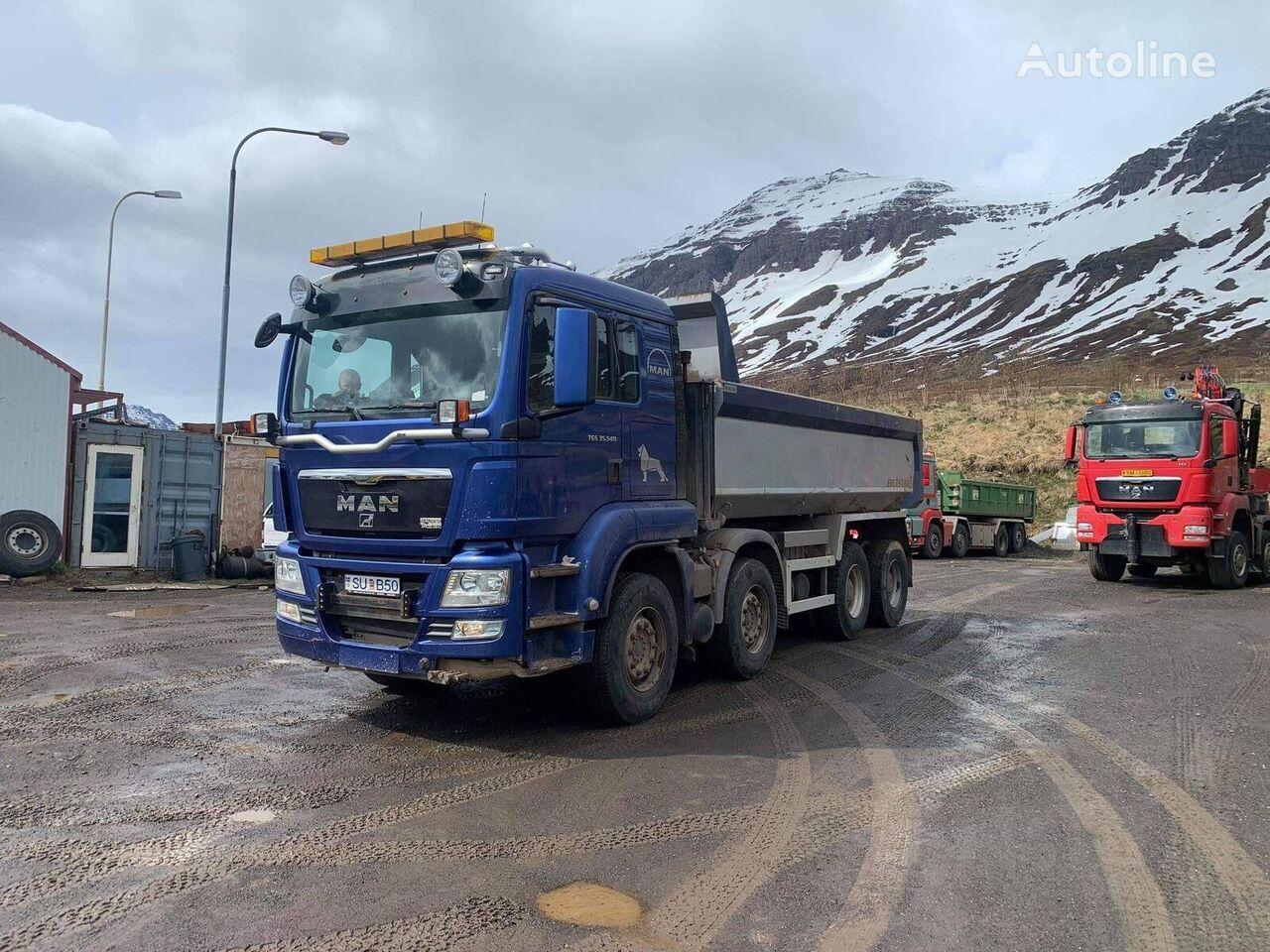 MAN TGS 35.540 dump truck
