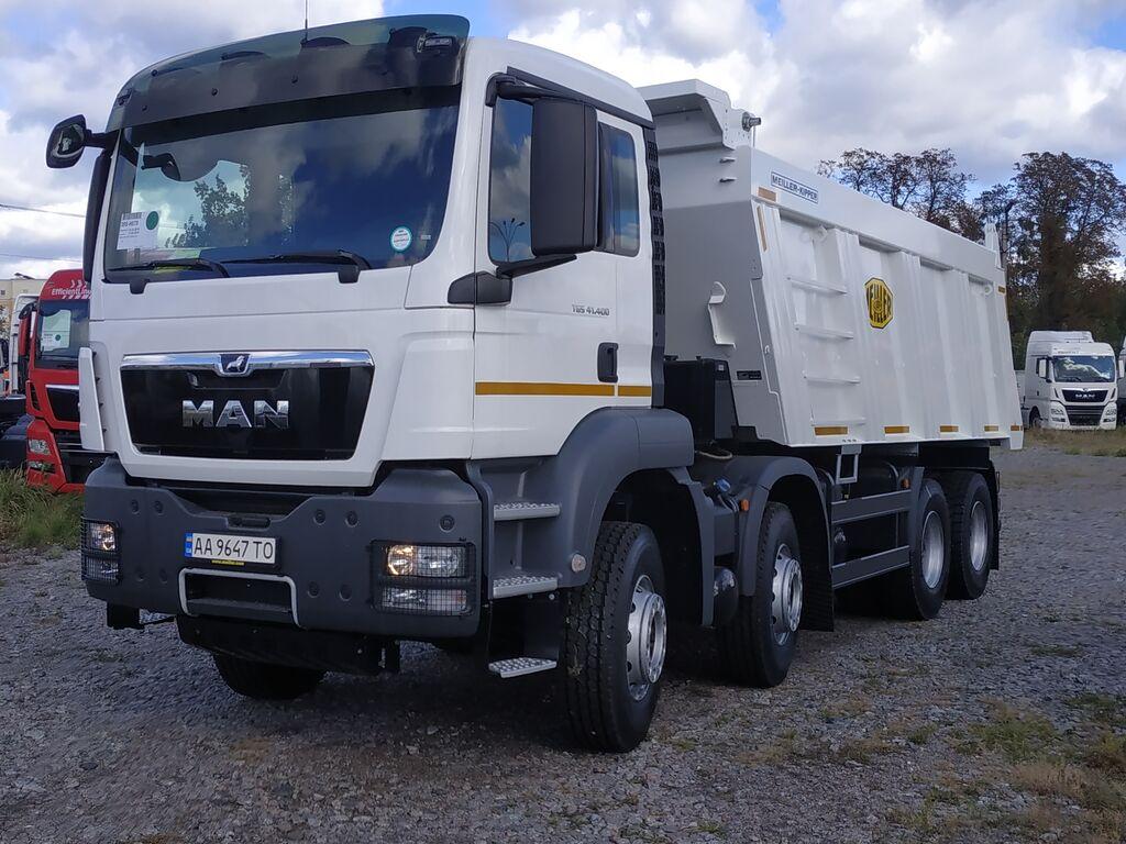 new MAN TGS 41.400 dump truck