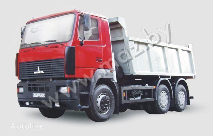 MAZ 6501 avtopoezd dump truck