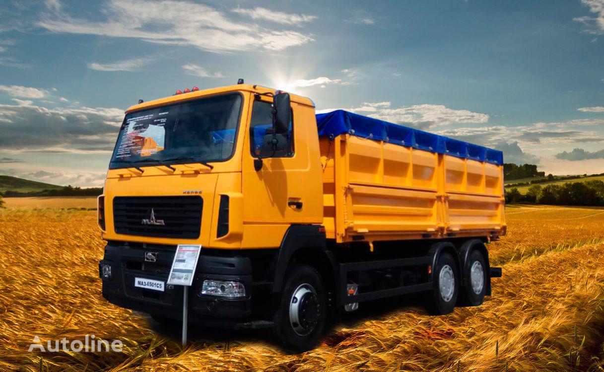 new MAZ 6501C5-535-000 dump truck