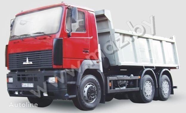 new MAZ 6501A8 dump truck