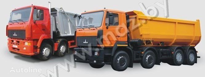 new MAZ 6516A8 dump truck