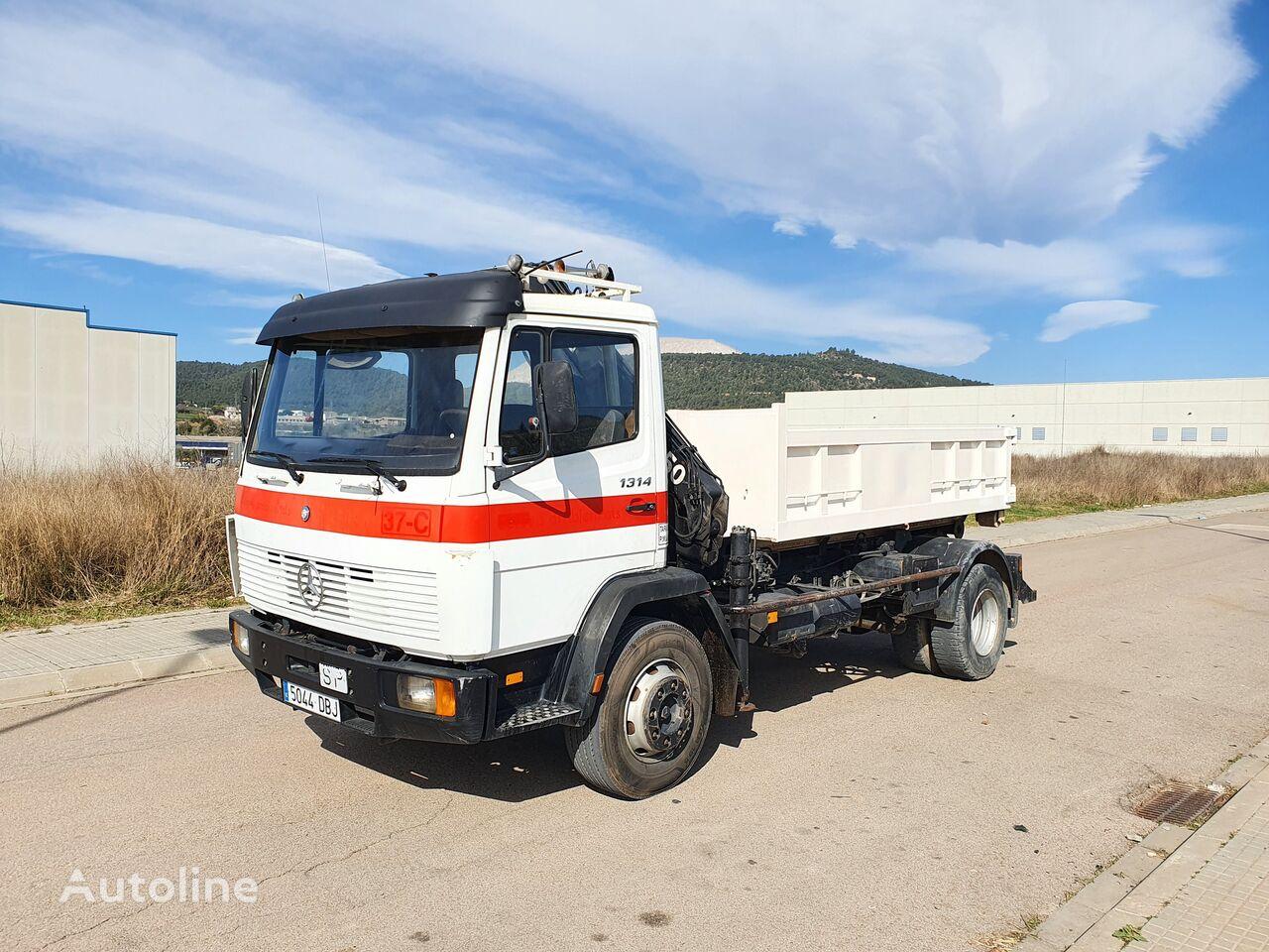 MERCEDES-BENZ 1314 dump truck