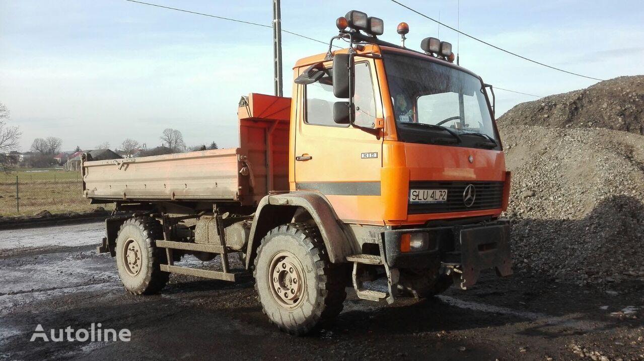 MERCEDES-BENZ 1314AK + piaskarka dump truck