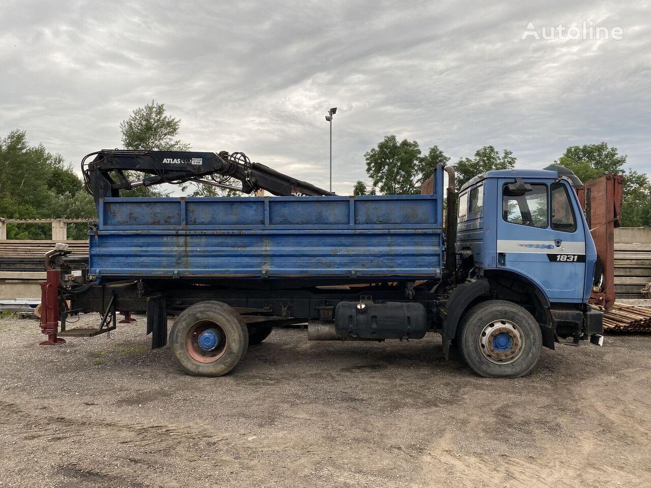 MERCEDES-BENZ 1824 dump truck
