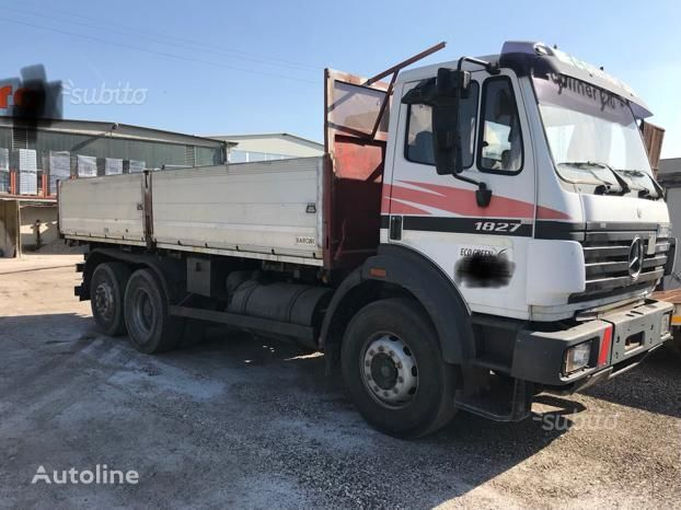 MERCEDES-BENZ 1827 ribaltabile Balestratto dump truck
