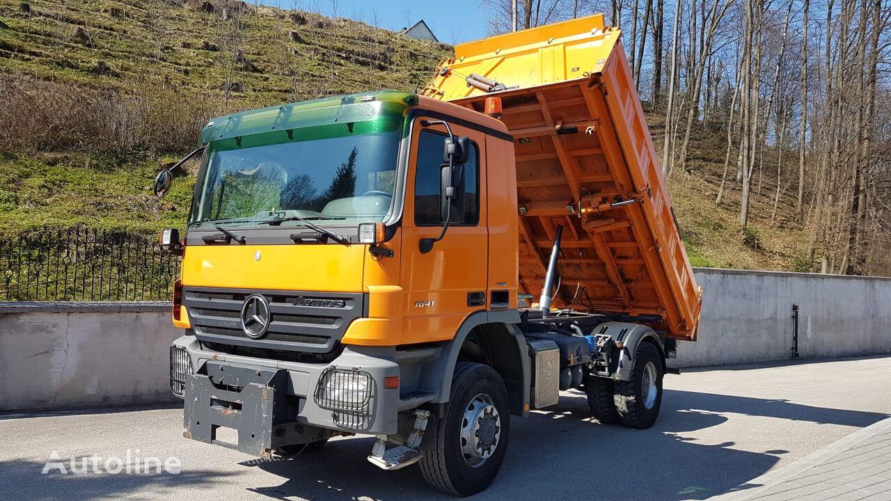 MERCEDES-BENZ 1841 BLUTEC 4 4X4  dump truck