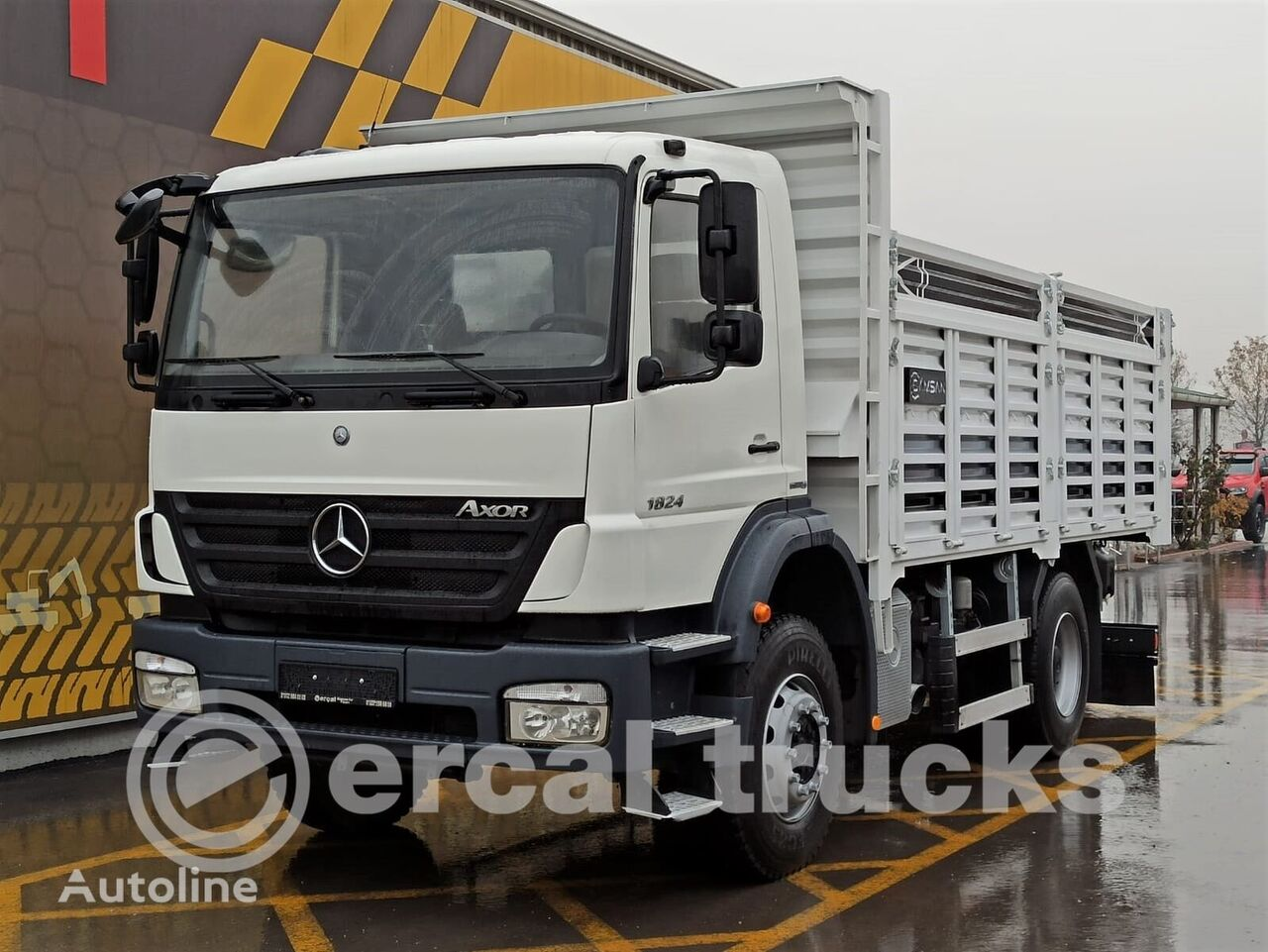 MERCEDES-BENZ 2011 AXOR 1824 EURO4 4X2 TIPPER dump truck