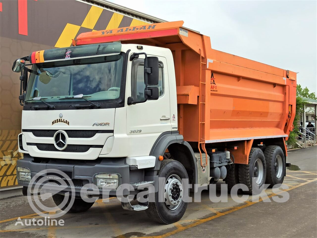 MERCEDES-BENZ 2011 AXOR 3029 E4 HARDOX TIPPER dump truck