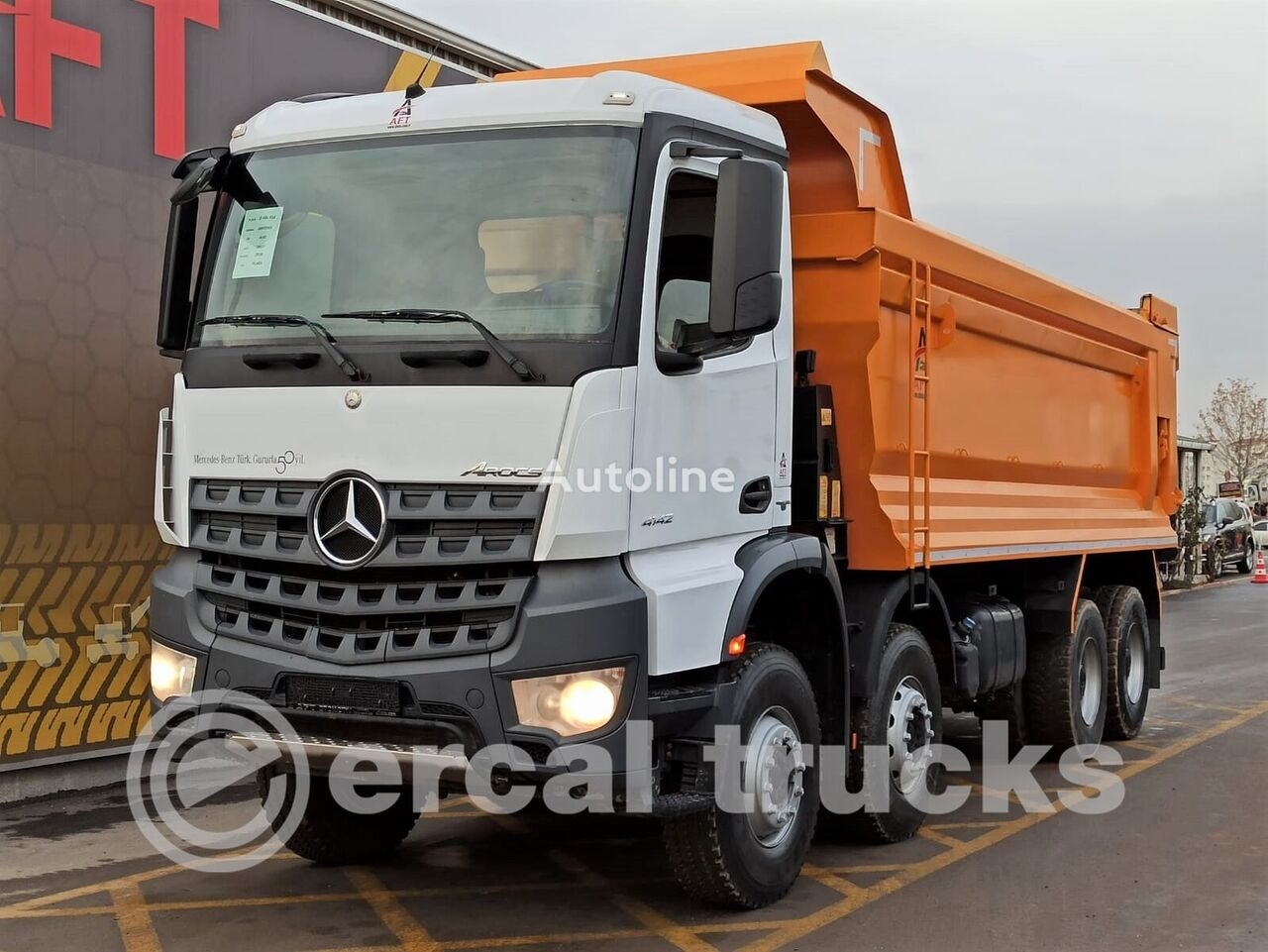 MERCEDES-BENZ 2018 AROCS 4142 E6 AC AUTO 8X4 HARDOX TIPPER  dump truck