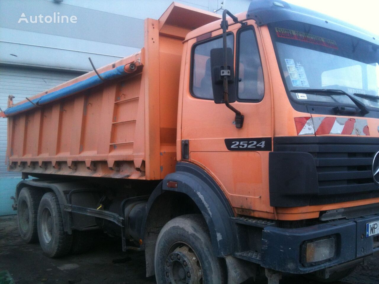 MERCEDES-BENZ 2524 dump trucks for sale, tipper truck, dumper/tipper from  Poland, buy dump truck, LA12104