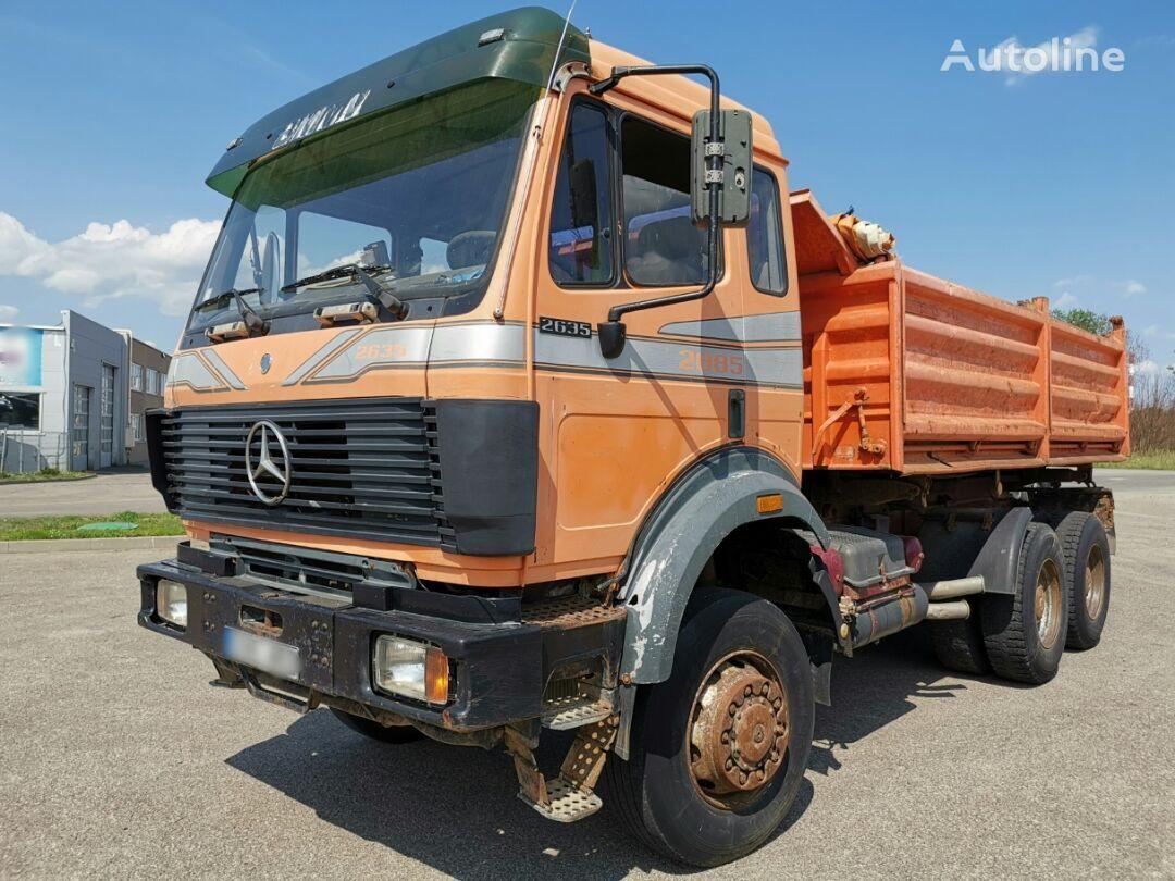 MERCEDES-BENZ 2635  dump truck