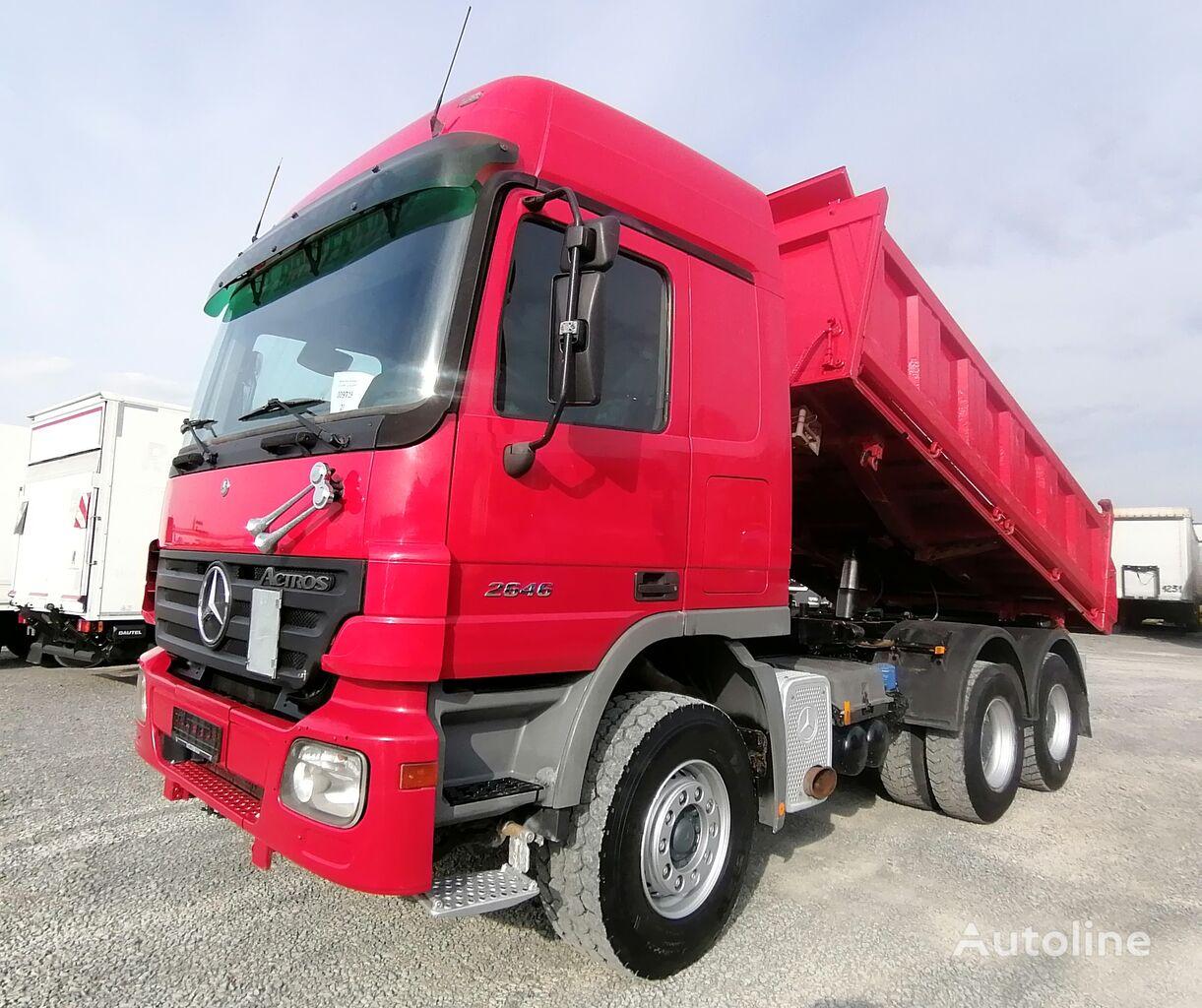 MERCEDES-BENZ 2646 6x4 Meiller Dreiseitenkipper Retarder (23) dump truck