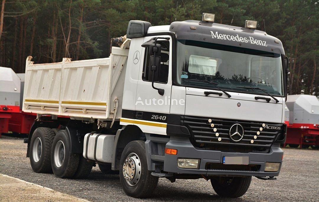 MERCEDES-BENZ ACTROS 2640  dump truck