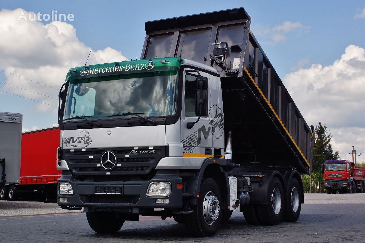 MERCEDES-BENZ ACTROS 26410 6X4 3 SIDE KIPPER EPS / GERMAN TRUCK TOP_ZUSTAND !  dump truck