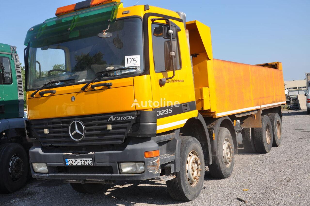 damaged MERCEDES-BENZ ACTROS 3235 dump truck