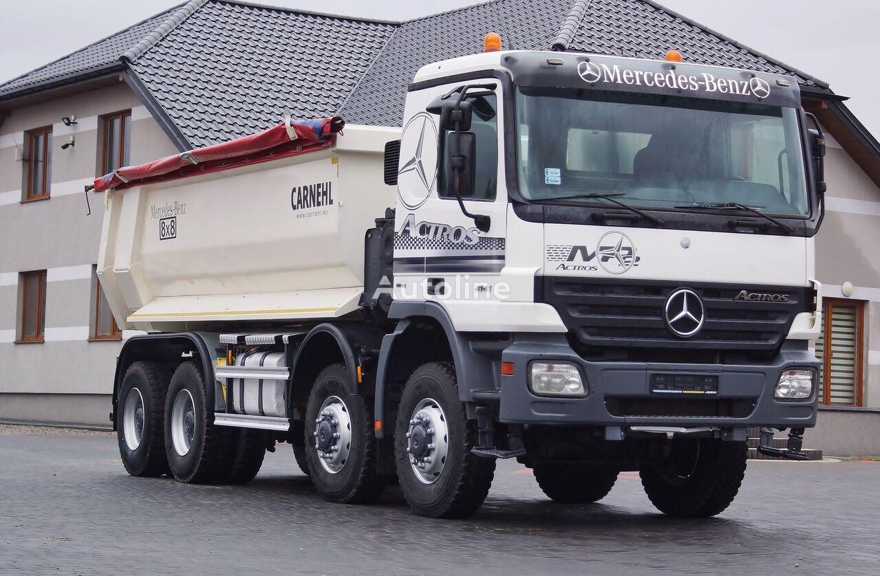 MERCEDES-BENZ ACTROS 4141 dump truck