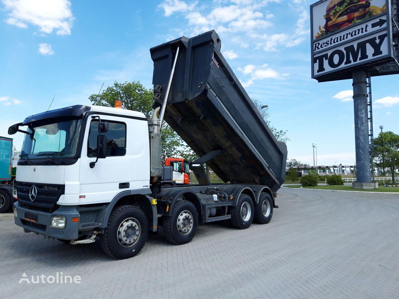 MERCEDES-BENZ ACTROS 4141 8X4 / NOVE GUME dump truck